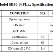 SBS6-64PLxx_specifications